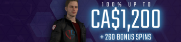 Captain Spins 100% up to CA$1200 Bonus